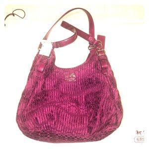 Coach Madison Gather Maggie Berry 18886 Bag Purse